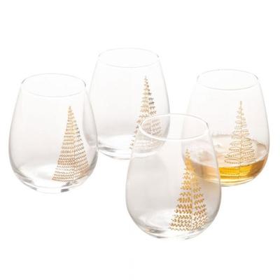 Vasos Arboles De Navidad Juego de 4