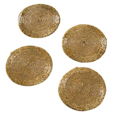 Posavasos Dorados Juego De 4
