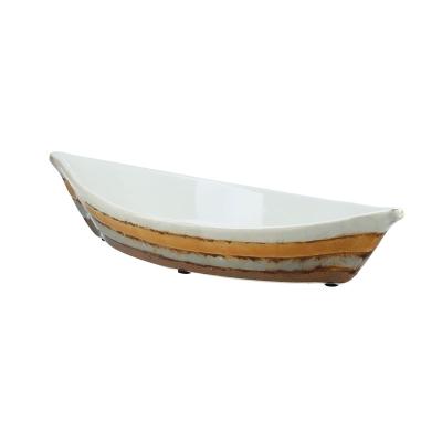 Bote  Decorativo Amarillo