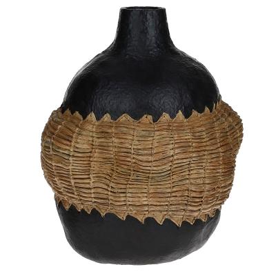 Florero Decorativo Negro