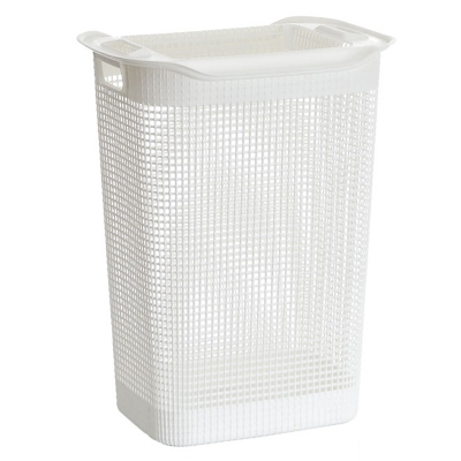 Hamper Rectangular Linum De Plástico Blanco
