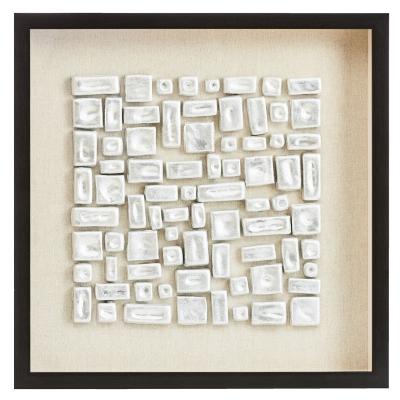 "Cuadro Abstracto Figuras 23"" x 23"""