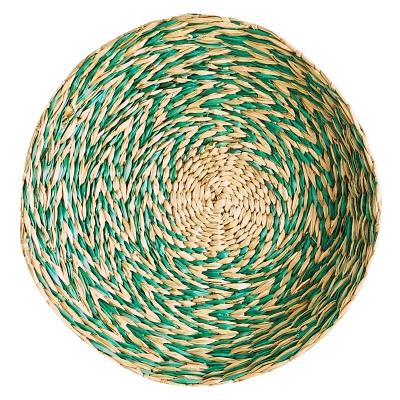 """Platón De Bambú Seagrass 10"""""""
