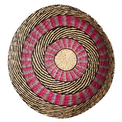 """Platón De Bambú Seagrass 23"""""""