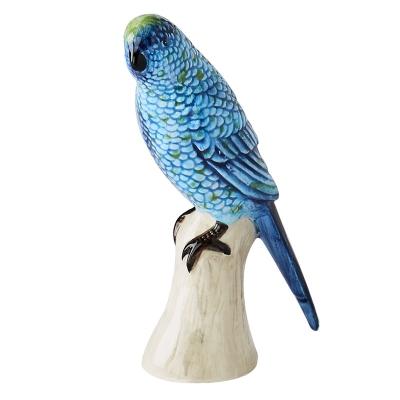 Cotorra Decorativa Azul