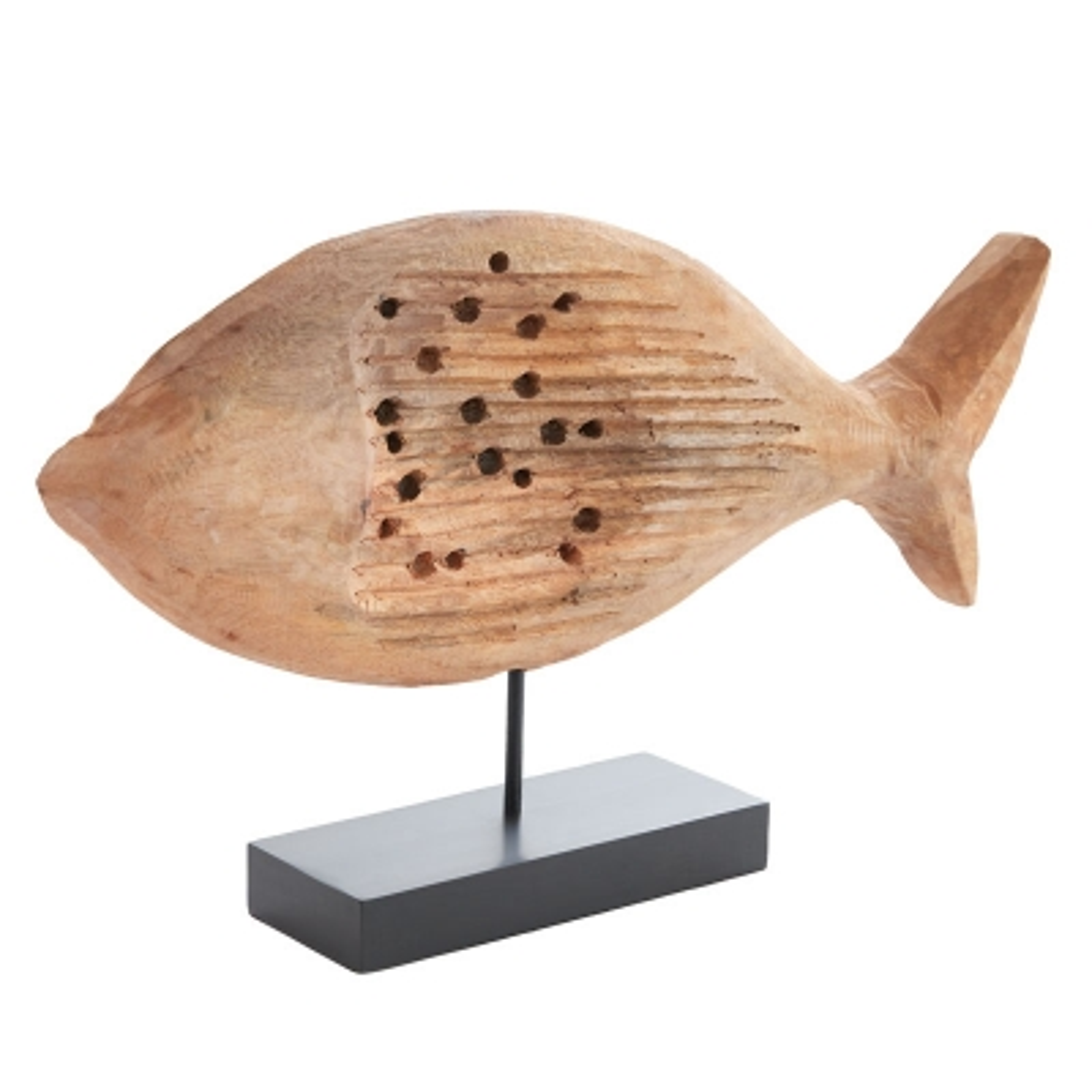 Pez Decorativo De Madera Grande