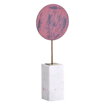 Objeto Decorativo Rojo Rubí