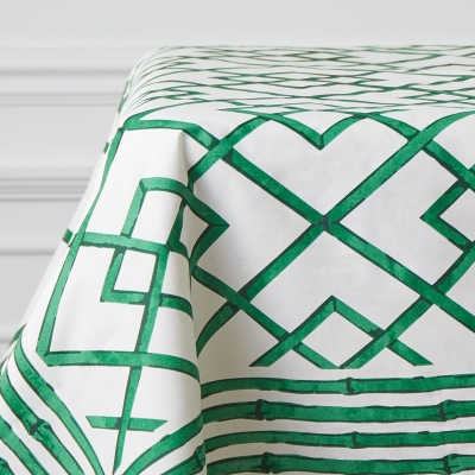 "Mantel Rectangular Celerie Verde 63"" x 90"""