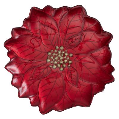 Plato Base Star Rojo