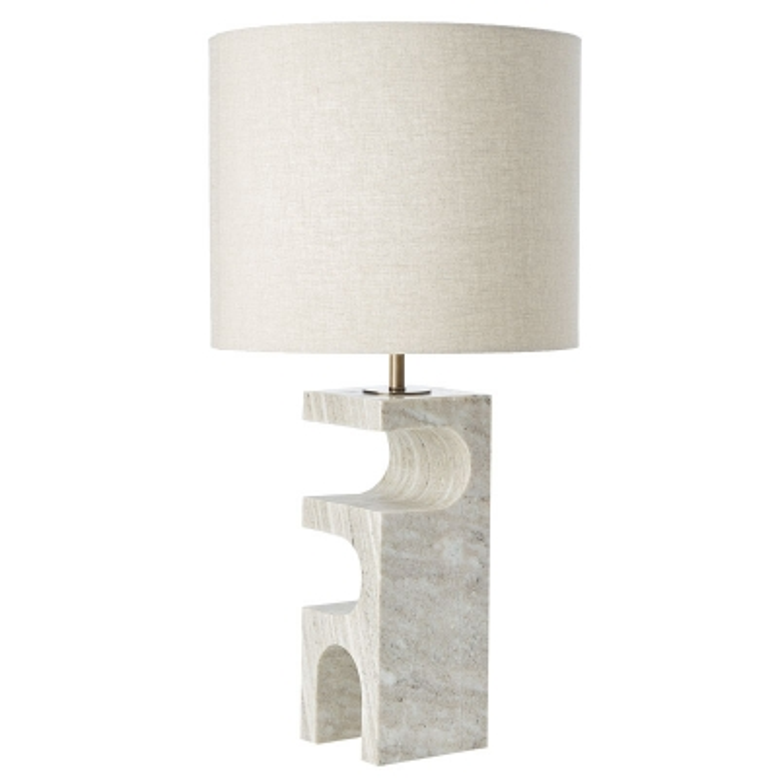 Lámpara De Mesa Kristen Gris
