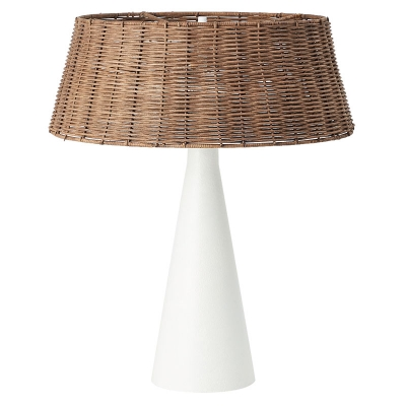 Lámpara De mesa Angelina Blanco