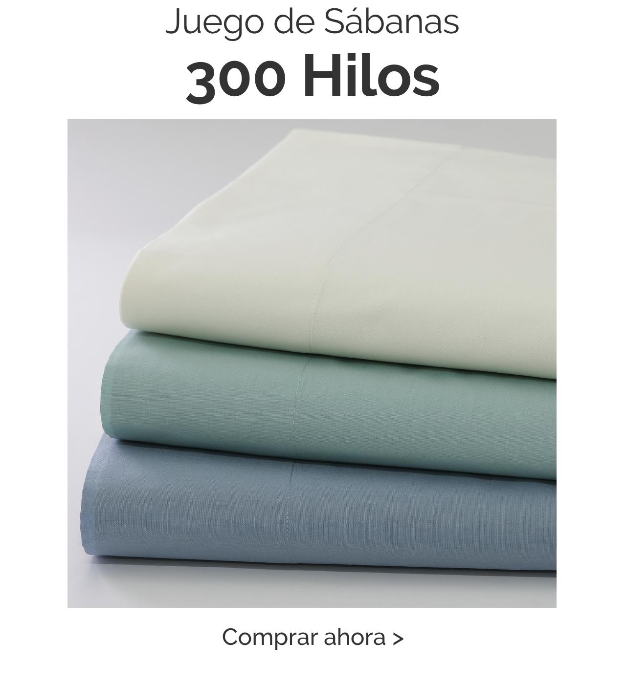 Sabanas 300 Hilos