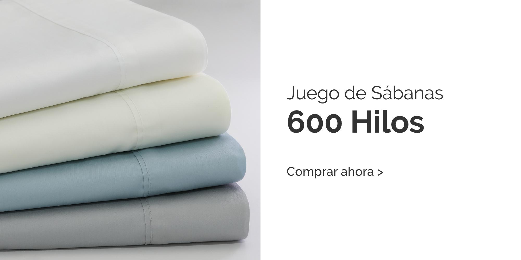 Sabanas 600 Hilos