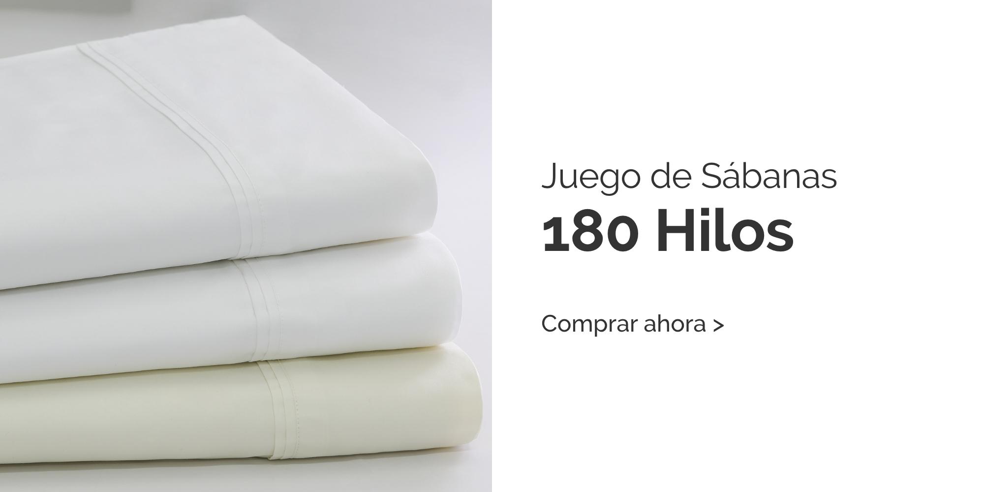 Sabanas 180 Hilos